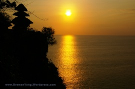 Sunset at Uluwatu, Bali